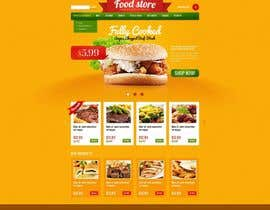 #14 cho Design template for Opencart fast food takeaway website bởi MadniInfoway01
