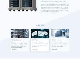 #110 para Design only for hosting company - 2 pages por GraphixTeam