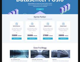 #159 para Design only for hosting company - 2 pages por dilshanzoysa