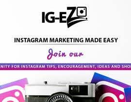 "#19 для Need Facebook Group Cover Photo for ""IG-EZ"" от TINKERSMIND"