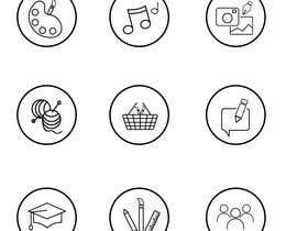 #13 para Require 9 icons in vector format por elvisdg