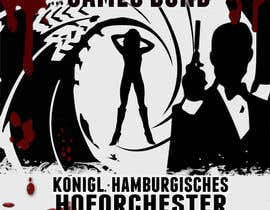 #145 for James Bond Poster Design for Orchestra Concert by lolish22