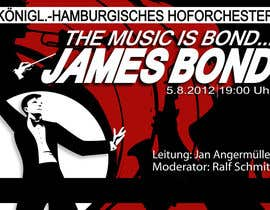 #65 for James Bond Poster Design for Orchestra Concert af frostyerica