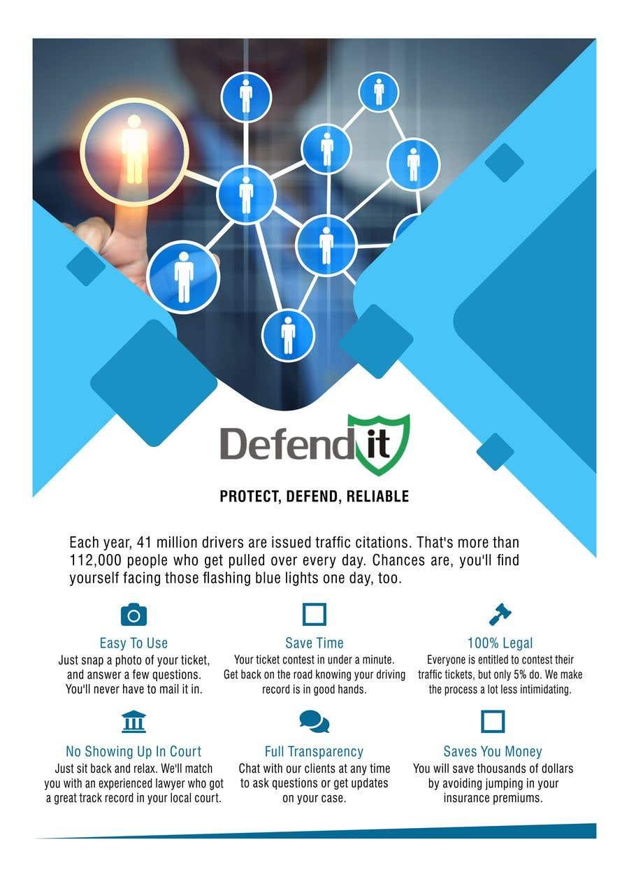 Konkurrenceindlæg #8 for Design a Flyer for services