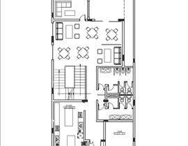 #19 untuk To design interior interior furniture and equipments layout for a restaurant oleh maiiali52