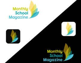 "natterum tarafından Design a Logo for ""monthly school magazine"" için no 12"
