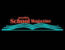 """esetan86 tarafından Design a Logo for """"monthly school magazine"""" için no 8"""