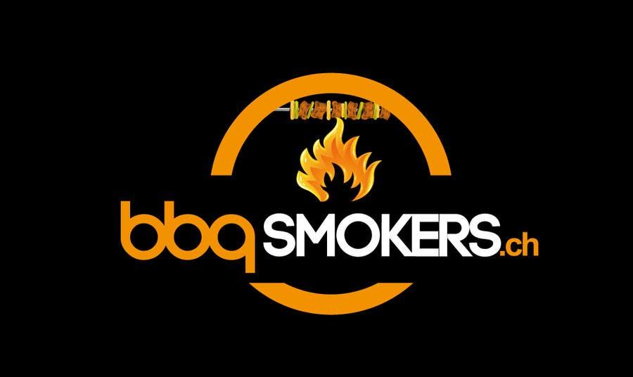 Kilpailutyö #278 kilpailussa Logo Design for our new Company: BBQ-Smokers