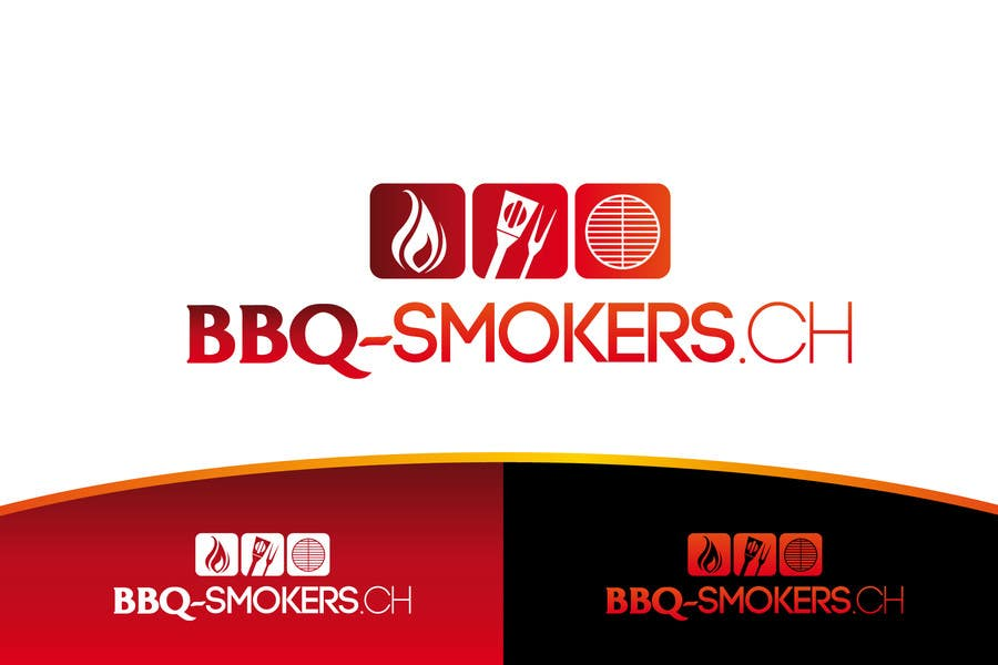 Kilpailutyö #94 kilpailussa Logo Design for our new Company: BBQ-Smokers