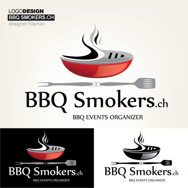 Kilpailutyö #217 kilpailussa Logo Design for our new Company: BBQ-Smokers