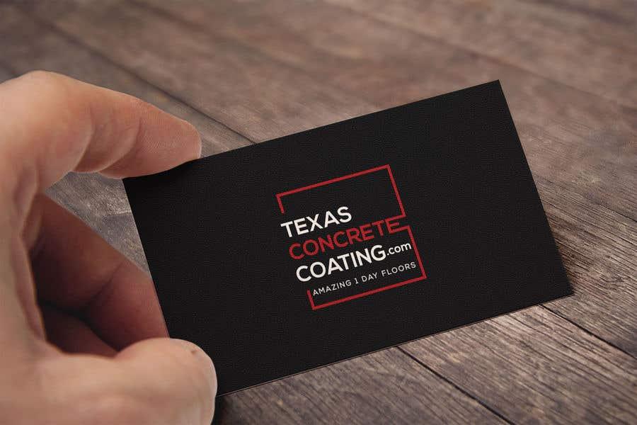 Penyertaan Peraduan #1295 untuk Modern Logo for New Concrete Coating Company