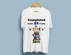 #25 for create a picture for a t-shirt - book reading af konikaroy846