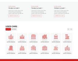 nº 7 pour Build a website design and ui kit for a car dealer website par ArafPlays