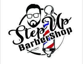 Nro 14 kilpailuun barbershop logo design käyttäjältä RifatNR