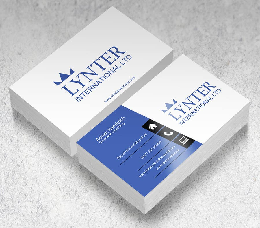 Entry #45 by gohardecent for Design some Business Cards for Lynter ...