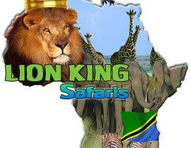 #48 untuk Logo Design for LION-KING SAFARIS oleh lorikeetp9