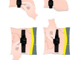 #7 for Create a diagram/Figure of apple watch and person testing ECG function by vetrovdaniel