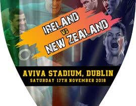#60 для IRE vs NZ rugby competition poster от Asifsarem