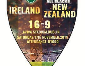 #38 для IRE vs NZ rugby competition poster от sayannandi41