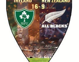 #55 для IRE vs NZ rugby competition poster от sayannandi41