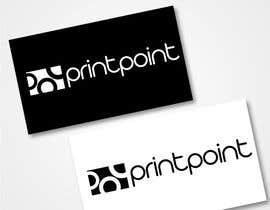 #222 para Logo Design for Print Point de F5DesignStudio