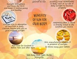 #30 untuk Design a poster - Benefits of Sun for Natural Health oleh iqradagiya