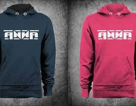 "#123 untuk I need to design a T-shirt carting ""ANNA"" name, am attaching the definition style as an option but you don't have to use it. But you have to use the attached mock-up oleh erwinubaldo87"