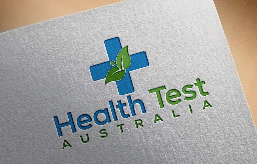 Entry #1213 by designguruuk for Health Tests Australia Logo