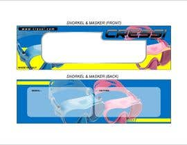 #7 for Packaging for snorkelling gear af AnankZep