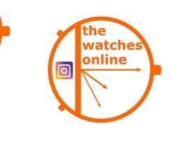 Nro 20 kilpailuun Creat a logo for my instagram ( thewatchesonline ) käyttäjältä davutgonen