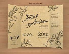 Nro 49 kilpailuun Design a rustic wedding invite template käyttäjältä MandrakeX2