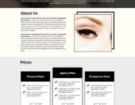 #40 for 150$ Guaranteed - Wordpress Website for an Eye-Lashes Company by AfhamaStudio