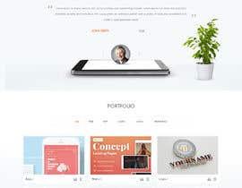 #17 para Design web and mobile app development company website mockup por yasirmehmood490