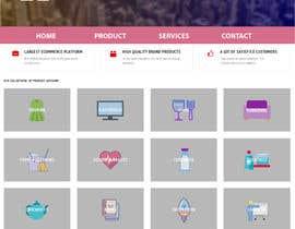 #59 para Design web and mobile app development company website mockup por asik01711