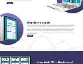 #4 para Design web and mobile app development company website mockup por saidesigner87
