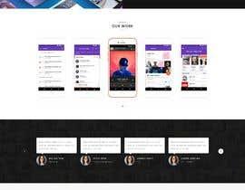 #21 para Design web and mobile app development company website mockup por drima16