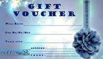Contest Entry #25 for Design of GIFT VOUCHERS : for HYPNOSIS