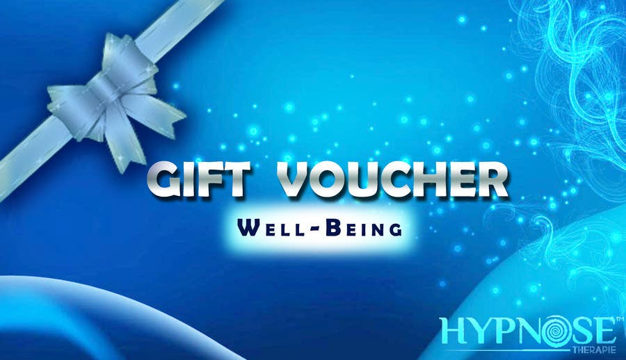 #29 for Design of GIFT VOUCHERS : for HYPNOSIS by SaranyaKrish