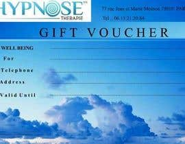 #16 cho Design of GIFT VOUCHERS : for HYPNOSIS bởi vaibhavparikh