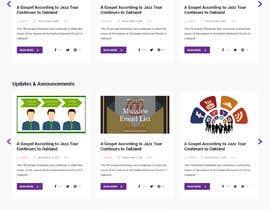 nº 37 pour Updated design for our existing blog site (Design Only) par mondaluttam