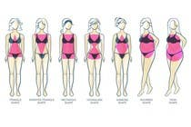 Graphic Design Entri Peraduan #31 for Illustration Design for female body shapes/ types