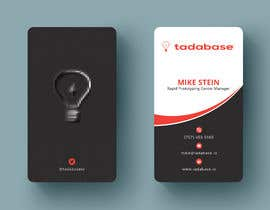 #354 для Double Sided Vertical Business Card in Illustrator от tamamallick