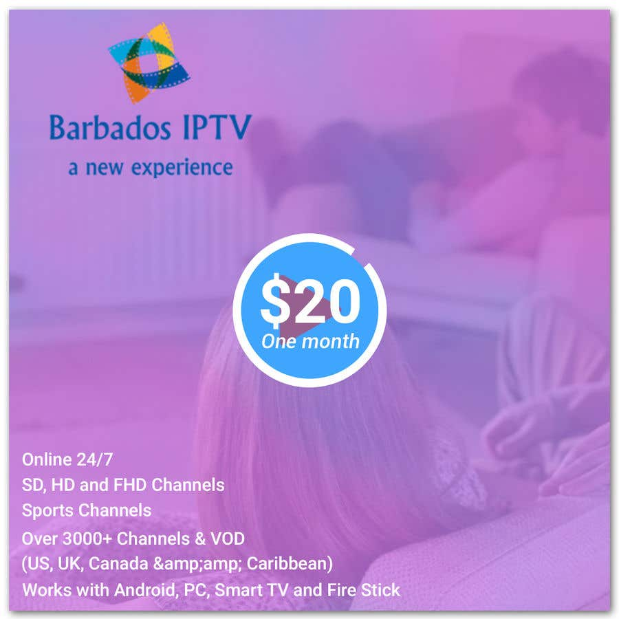 Entry #18 by bhripon990 for Posters for IPTV service   Freelancer