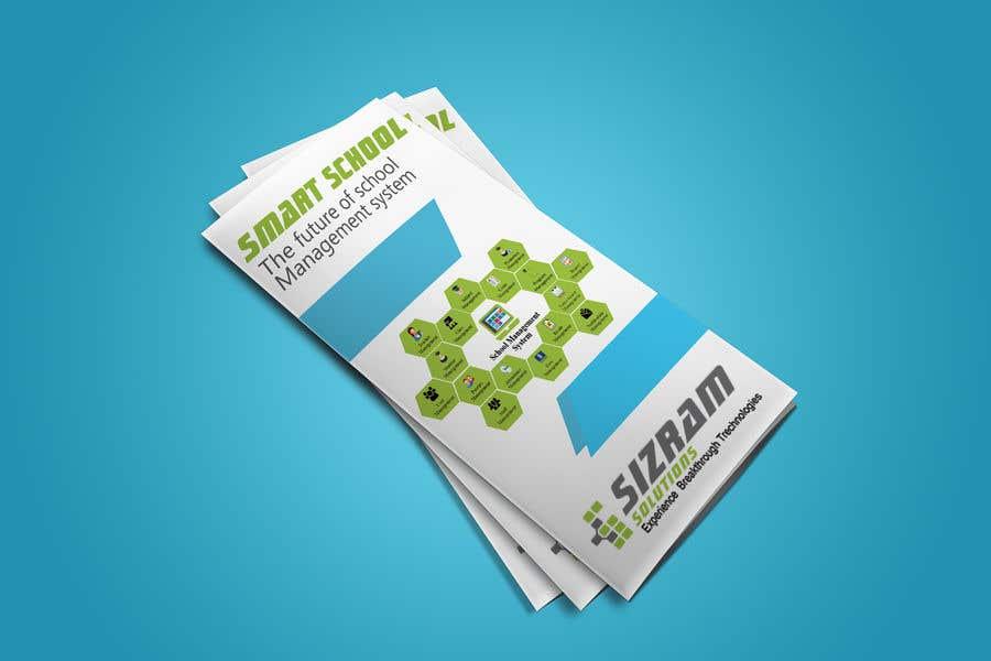 Advertising Brochure For School Management Software Freelancer