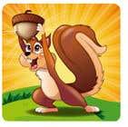 Game Icon: Squirrel + Nut için Graphic Design45 No.lu Yarışma Girdisi