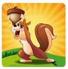 Game Icon: Squirrel + Nut için Graphic Design57 No.lu Yarışma Girdisi