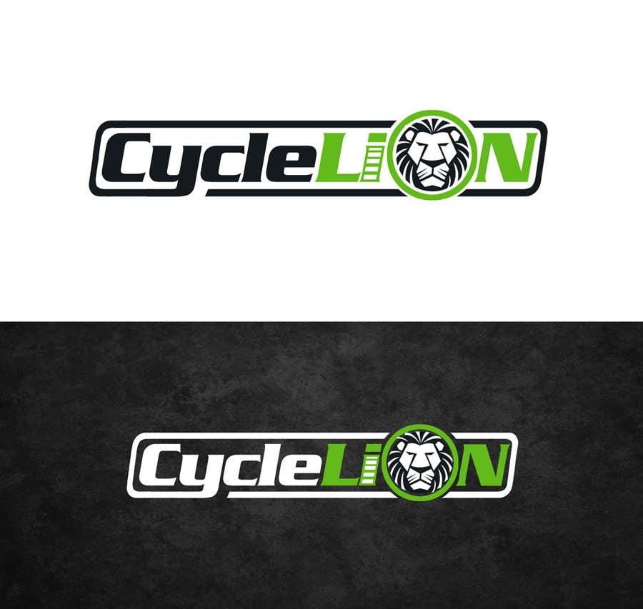 """Inscrição nº                                         47                                      do Concurso para                                         Design a Logo for """"Cycle Lion"""""""