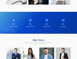 #8 pentru Design smooth, elegant, luxurious, classy, sleek, BUT SIMPLE website for cutting edge technology consulting services. High tech, custom and special systems, futuristic technology company. de către mdbelal44241