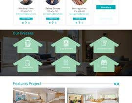 #25 for Real Estate Website Mock Up by mdziakhan