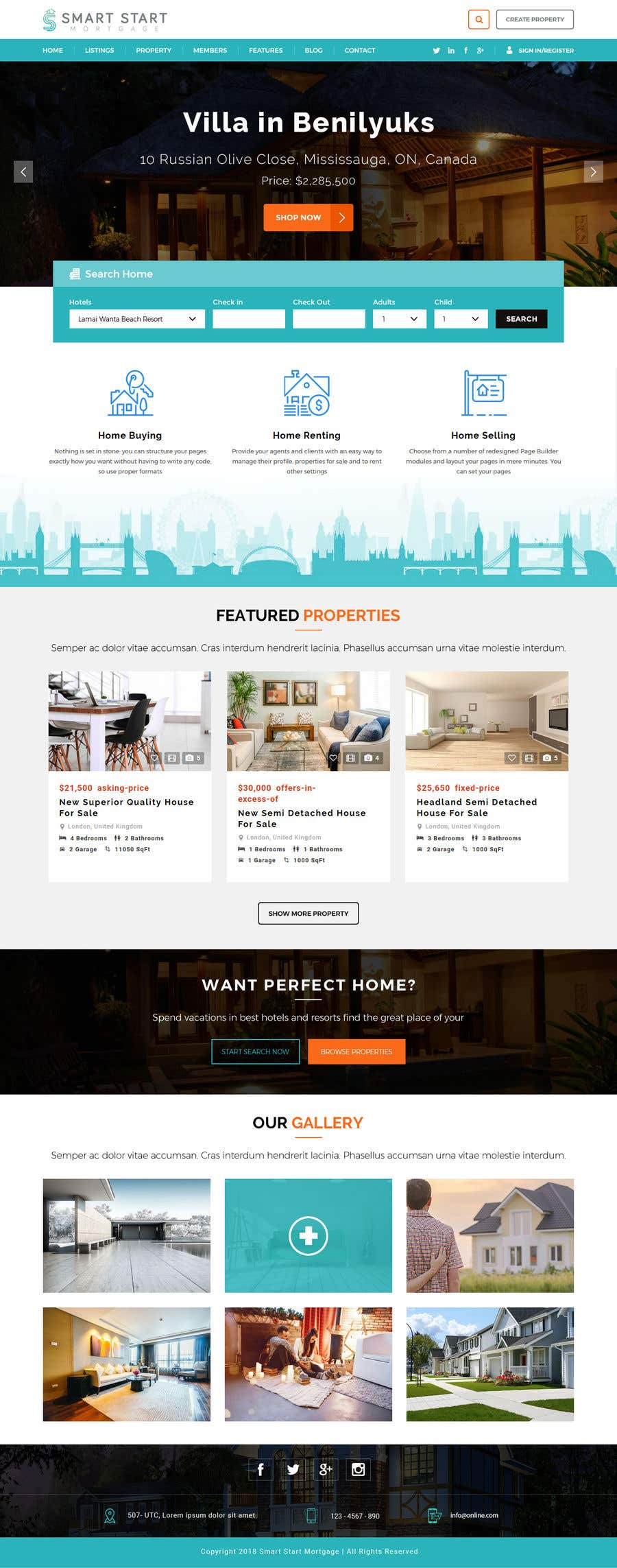 Contest Entry #23 for Real Estate Website Mock Up